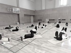 南陽市体育館 コアトレーニング みつば治療院